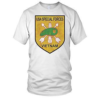 USA spesialstyrker Vietnam Grunge effekt Kids T skjorte