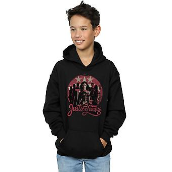 DC Comics Boys Justice League Movie Group Pose Hoodie