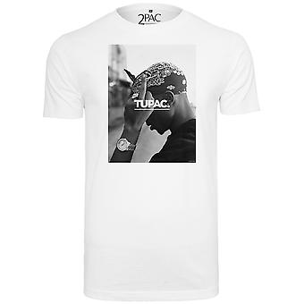 Merchcode shirt - 2PAC WORLD white