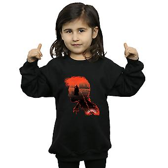 Harry Potter Girls Battle Silhouette Sweatshirt