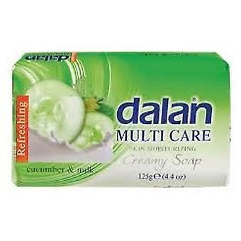 Dalan Multi Care Moisturizing Soap Cucumber & Milk 6x75g