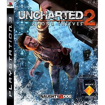Uncharted 2 Among Thieves (PS3)-fabriken förseglad