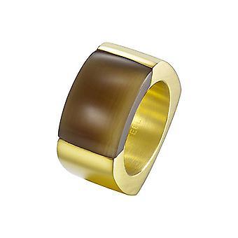 Joop women's ring stainless steel gold MARVELOUS JPRG10614B1