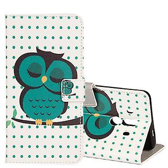 Zak portemonnee motief 35 voor Huawei mate 10 Pro cover case pouch cover beschermhoes