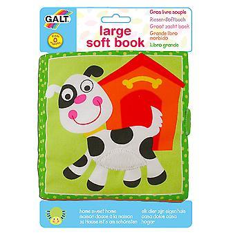 Galt Toys store bløde bog, Home Sweet Home