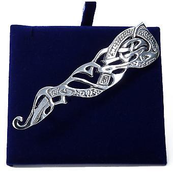 Celtic Design Pewter Kilt Pin