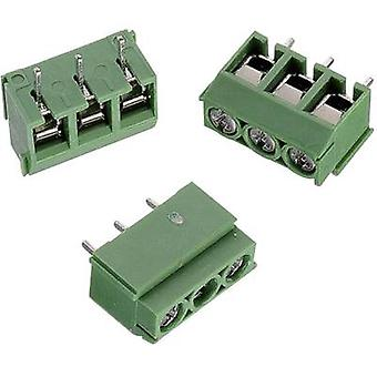 Würth Elektronik WR-TBL 111 terminale a vite 2,00 mm ² numero di pin 2 verde 1/PC