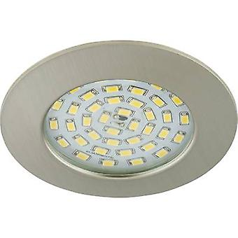 Briloner 7206-012 LED bathroom recessed light 10.5 W Warm white Nickel (matt)