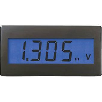 Digital rack-mount meter VOLTCRAFT DVM230B ±199.9 mV