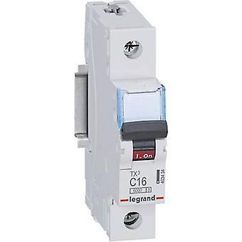 Legrand 403434 Circuit breaker 1-pin 16 A 230 V, 400 V