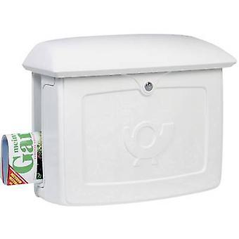 Letterbox Burg Wächter 18350 MALMÖ 889 W Plastic White Key