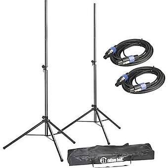 PA högtalare stativ ställa teleskopisk, höjdjusterbara 1 Set