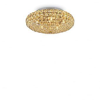 Ideal Lux König Pl5 Gold