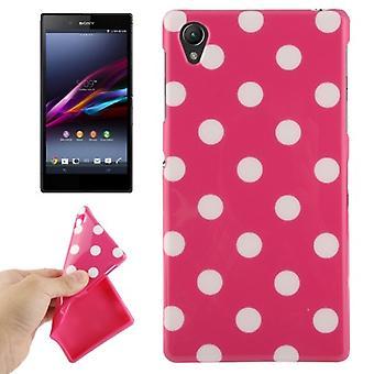 Beschermhoes voor mobiele telefoon Sony Xperia Z1 roze