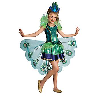 Peacock cocktailjurk Peacock kostuum voor kinderen