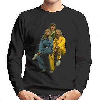 TV ganger Rainbow musikk Trio menns Sweatshirt
