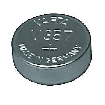 Varta V357 knap celle batteri sølv