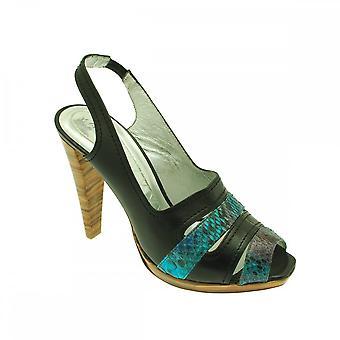 Magrit High Front Slingback Heel Sandal