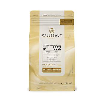 カレボー ホワイト チョコレート 'W2' Callets
