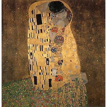 Kiss, Gustav KLIMT, 50x50cm