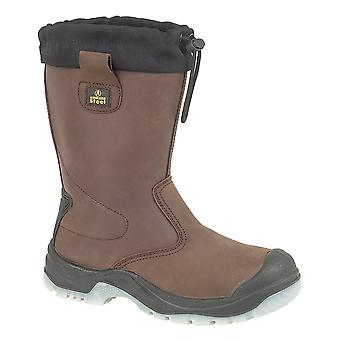 Amblers Steel FS219 Safety Pull On / Womens Boots / Riggers Safety