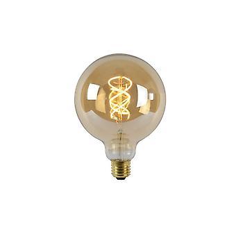Lucide LED-Birne Form: Runde Glas Amber Glühlampe