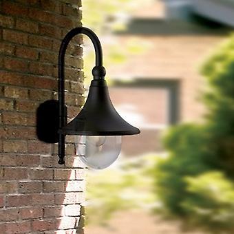 Firstlight Station udendørs IP44 væglampe i sort