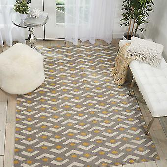 Harper dywany Ds300 przez Nourison w kolorze szarym