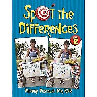 Spot skillnaderna bild pussel för barn bok 2 (Dover aktivitet barnböcker)