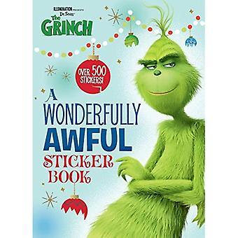 En underbart hemska klistermärke bok