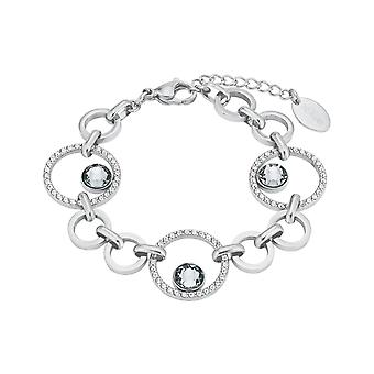 s.Oliver jewel ladies bracelet stainless steel crystals 2024268