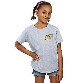 Disney Winnie The Pooh Rückseite Brust Print T-Shirt für Mädchen