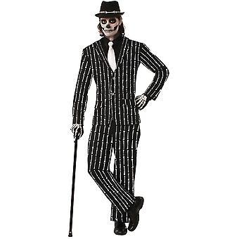 Mr Bones Suit Adult