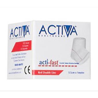 ACTI-FAST TINA BRAZO BANDA ROJA 3.5CMX1M