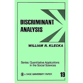 Analisi discriminante di Klecka & William R.