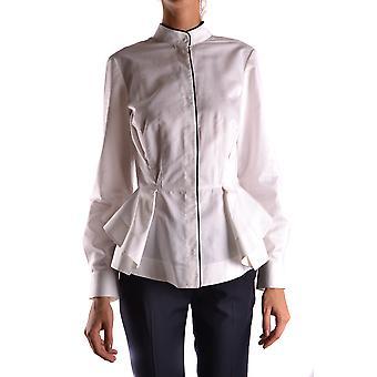 Alberta Ferretti Ezbc027009 Women's White Cotton Shirt
