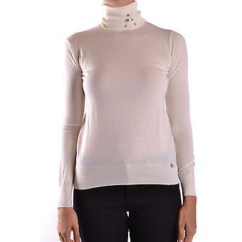 Liu Jo Ezbc086082 Women's White Wool Sweater