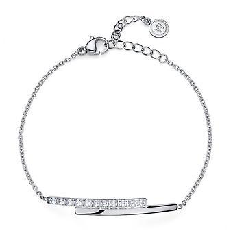 Bracelet Inter STE CZ white