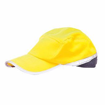 sUw - Hi-Vis Baseball Cap gelb/Navy regelmäßige