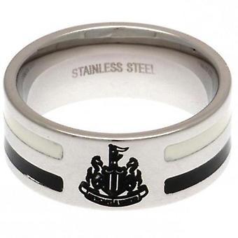 Newcastle United Colour Stripe Ring Large