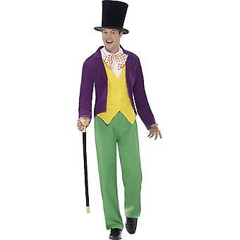 Roald Dahl van Willy Wonka kostuum