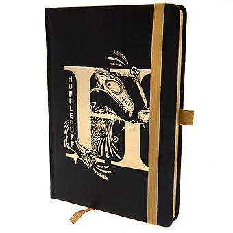Harry Potter Official Hufflepuff Premium Foil Notebook
