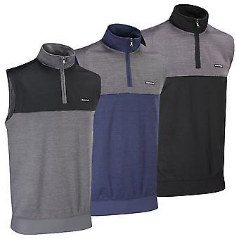 Stuburt Mens Golf Pro Sport Performance Zip Neck Slipover Vest