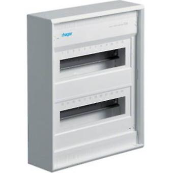 Hager VA24CN Switchboard cabinet Surface-mount No. of partitions = 24 No. of rows = 2