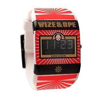Wize en ope open je geest wit digitaal horloge WO-OYM-1