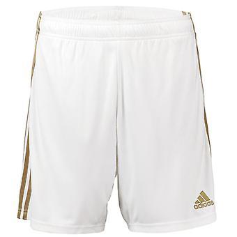 2019-2020 Real Madrid ADIDAS Shorts à la maison (blanc)