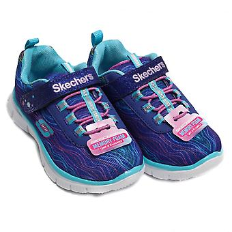 Skechers Skech Appeal Sittin' Pretty Girl's Trainer, Blue / LT Blue
