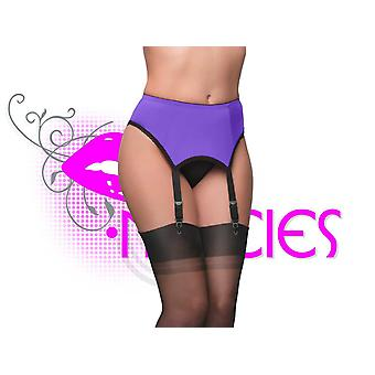 Nancies Lingerie Lycra 4 Suspender / Garter Belt for Stockings (NL6p)