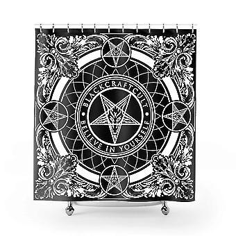 Blackcraft cult - baroque - shower curtain