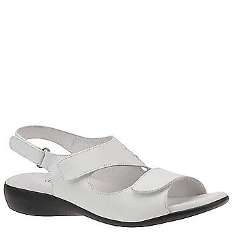 David Tate Womens lilly Leather Open Toe Casual Strappy Sandals